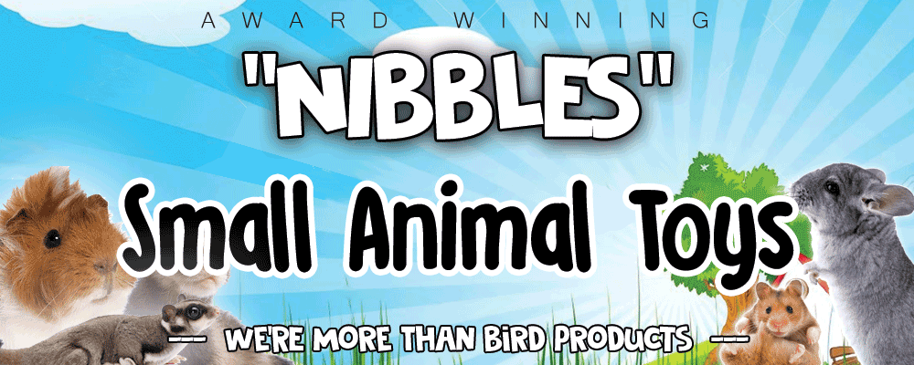 Nibbles Brand Small Animal Toys